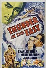 Thunder in the East Poster