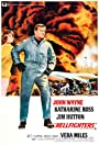 John Wayne, Jim Hutton, Katharine Ross, Bruce Cabot, Jay C. Flippen, and Vera Miles in Hellfighters (1968)