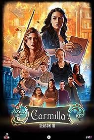 Annie Briggs, Aaron Chartrand, Natasha Negovanlis, Sharon Belle, Elise Bauman, and Kaitlyn Alexander in Carmilla (2014)