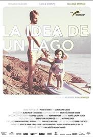 La idea de un lago Poster