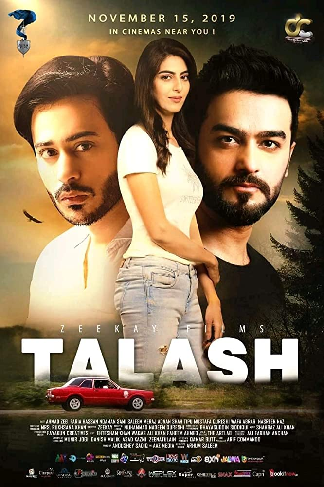 Talash 2019 Urdu 400MB HDRip ESubs
