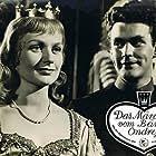 Jirí Papez and Aglaia Morávková in Medved a strasidla (1960)