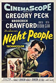 Gregory Peck in Night People (1954)