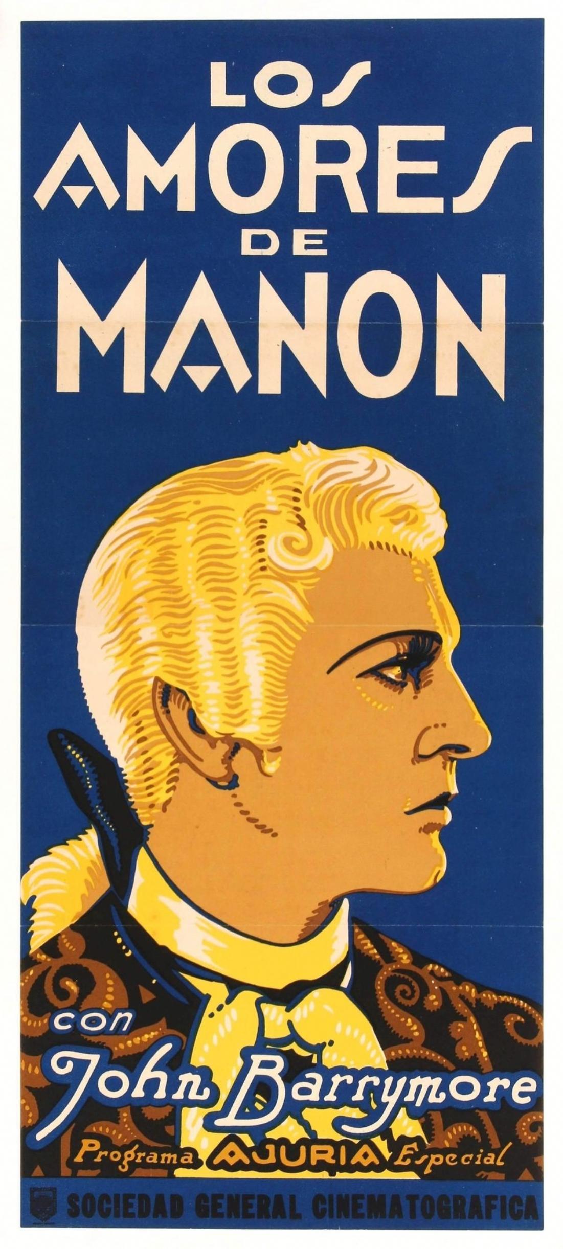 John Barrymore in When a Man Loves (1927)