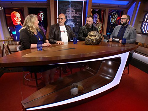 Gretchen J. Berg, Glenn Hetrick, Neville Page, and Matt Mira in After Trek (2017)