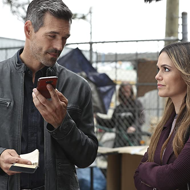 Eddie Cibrian and Rachel Bilson in Take Two (2018)
