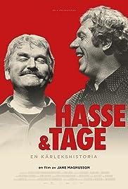 Hasse & Tage - en kärlekshistoria Poster