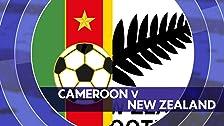 Camerún vs. Nueva Zelanda