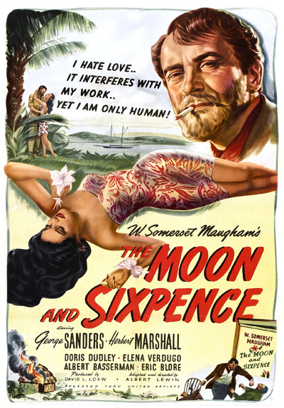 George Sanders and Elena Verdugo in The Moon and Sixpence (1942)