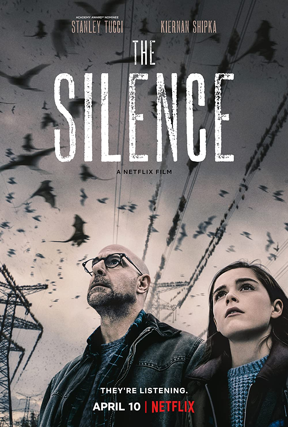 Download The Silence 2019 Hindi Dual Audio 480p NF BluRay ESubs 320MB