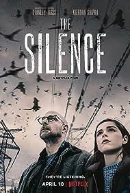 Stanley Tucci and Kiernan Shipka in The Silence (2019)