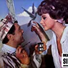 Robert Hirsch and Sylva Koscina in Monnaie de singe (1966)