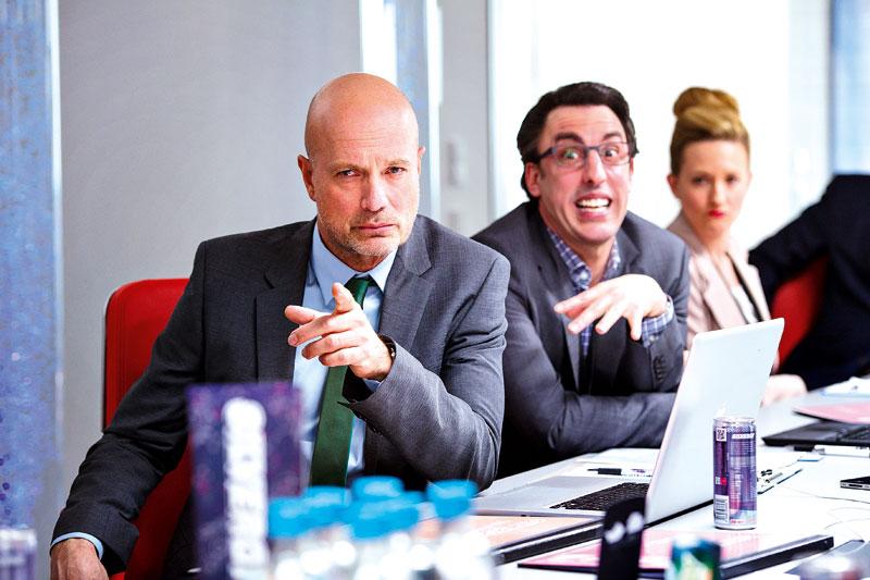 Christian Berkel and Alexander Schubert in Buddy (2013)