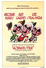 George Burns, Art Carney, and Lee Strasberg in Going in Style (1979)