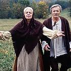 Radoslav Brzobohatý and Jana Hlavácová in Sedmero krkavcu (1993)