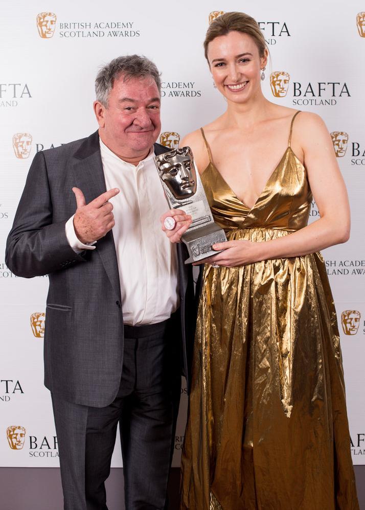 BAFTA Scotland 2017 - best actress in film winner