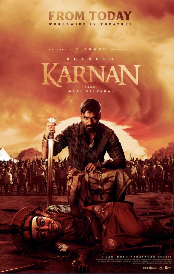 Karnan 2021 Tamil HQ PreDVDRip 400MB Download