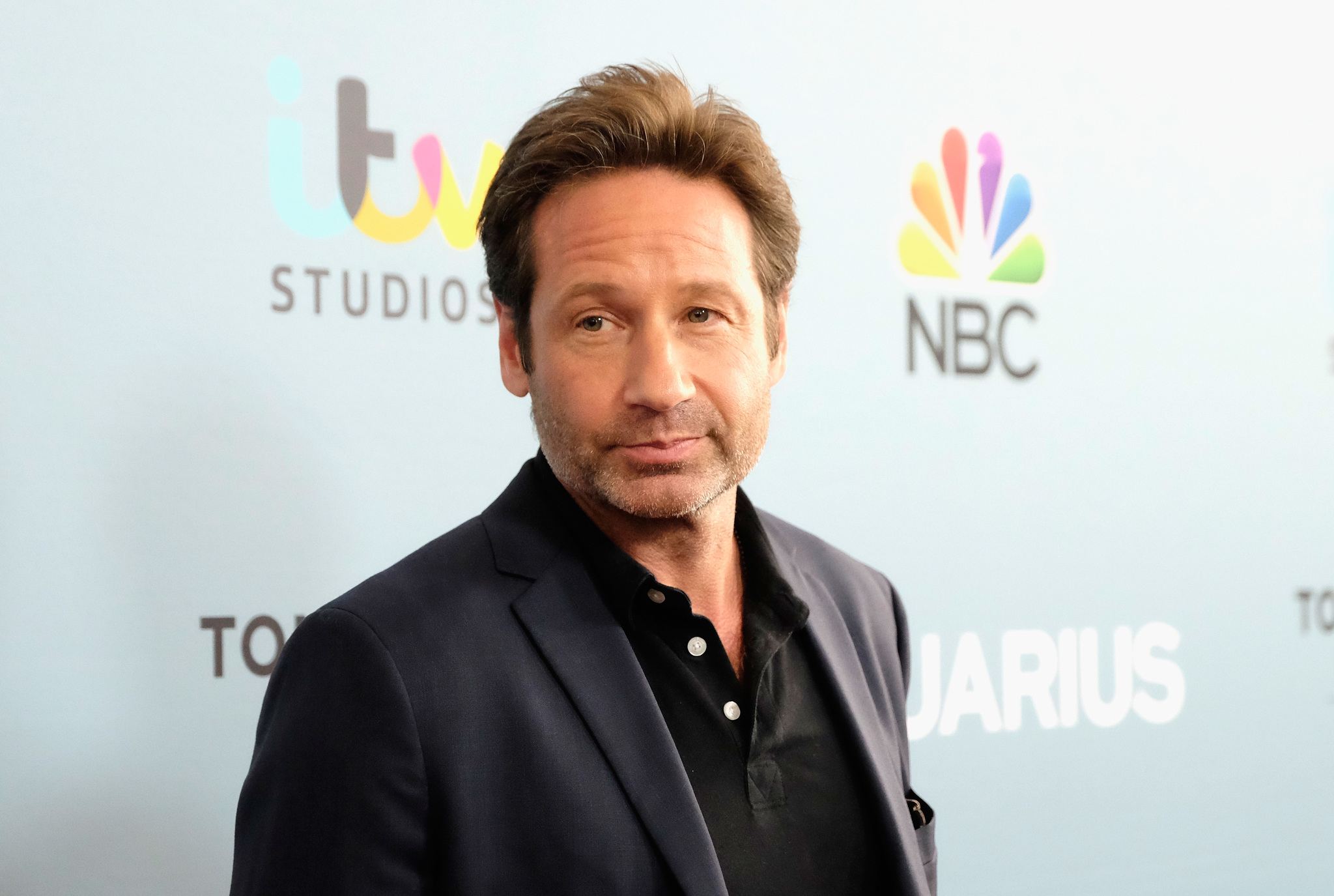 David Duchovny at an event for Aquarius (2015)