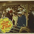 Tom London, George Cleveland, Dale Evans, Weldon Heyburn, Rex Lease, Bob Nolan, Tim Spencer, and Grant Withers in The Yellow Rose of Texas (1944)