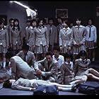 Tatsuya Fujiwara, Chiaki Kuriyama, Aki Maeda, Sayaka Kamiya, Takako Baba, Shin Kusaka, and Sayaka Ikeda in Batoru rowaiaru (2000)