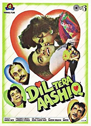 Dil Tera Aashiq movie, song and  lyrics