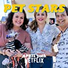 Colleen Wilson, Dane Andrew, Melissa May Curtis, and Rascal the Ugliest Dog in Pet Stars (2021)