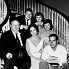 """""""Cat On A Hot Tin Roof,"""" B. Ives, E. Taylor, P. Newman, J. Carson, M. Sherwood, J. Anderson."""