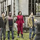 Anthony Flanagan, Colin Morgan, Sonya Cassidy, Ivanno Jeremiah, and Raphael Acloque in Humans (2015)