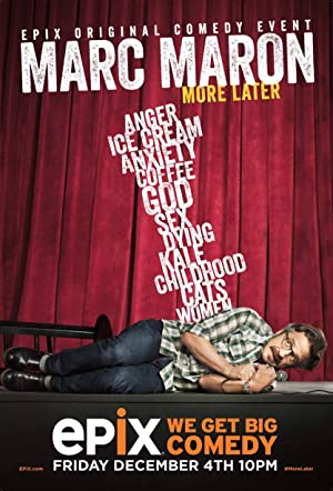 Where to stream Marc Maron: More Later