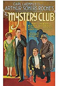Alfred Allen, Sidney Bracey, Matt Moore, and Edith Roberts in The Mystery Club (1926)