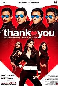 Bobby Deol, Irrfan Khan, Akshay Kumar, Suniel Shetty, Rimi Sen, Celina Jaitly, and Sonam Kapoor in Thank You (2011)