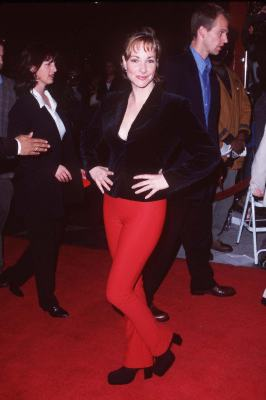 Leila Kenzle at an event for The Replacement Killers (1998)