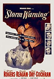 Storm Warning (1951) Poster - Movie Forum, Cast, Reviews