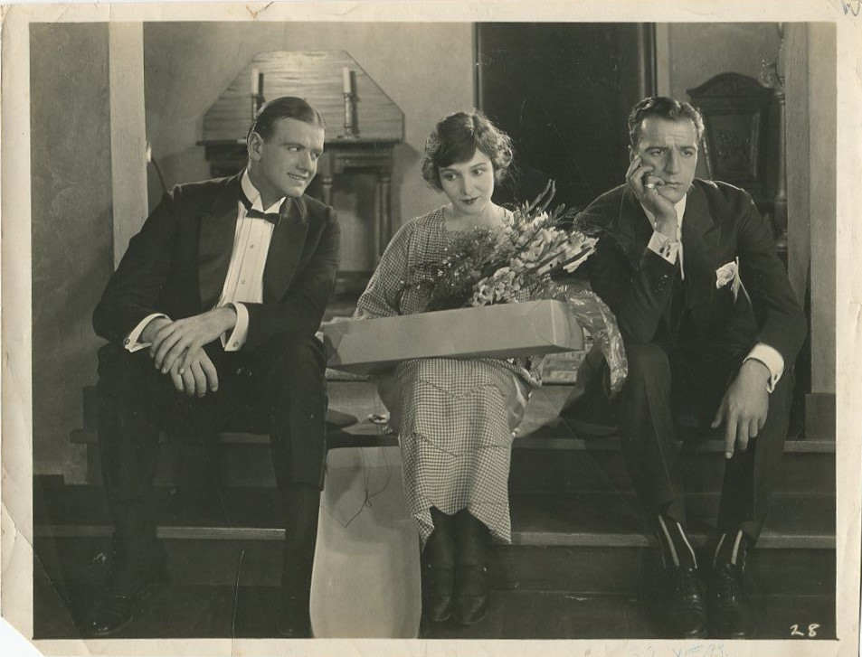 Louis Calhern, Charles Meredith, and Florence Vidor in Woman, Wake Up (1922)