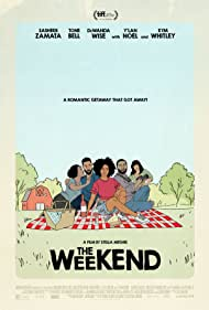 Kym Whitley, DeWanda Wise, Tone Bell, Sasheer Zamata, and Y'lan Noel in The Weekend (2018)