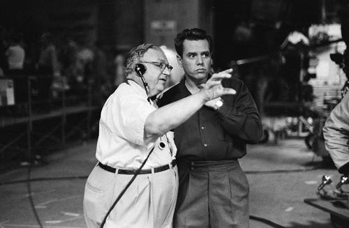 Desi Arnaz and Karl Freund in I Love Lucy (1951)
