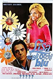Lisa dagli occhi blu Poster