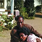 John Amos and Madge Sinclair in Roots (1977)
