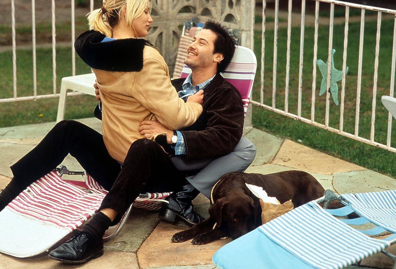 Cameron Diaz and Keanu Reeves in Feeling Minnesota (1996)