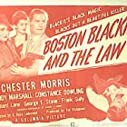 Constance Dowling, Trudy Marshall, and Chester Morris in Boston Blackie and the Law (1946)