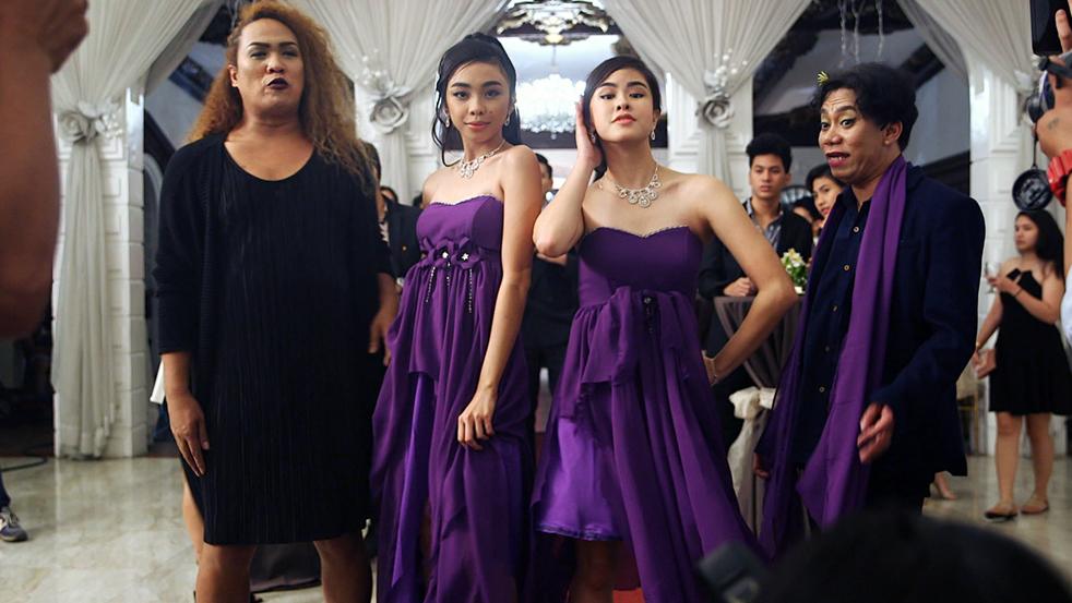 Lassy, Negi, Kisses Delavin, and Maymay Entrata in Alamat ng ano (2018)