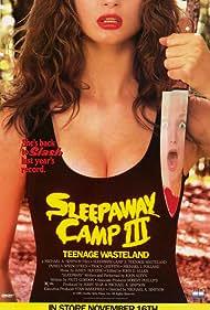 Sleepaway Camp III: Teenage Wasteland (1989) Poster - Movie Forum, Cast, Reviews