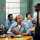 Rick Hurst, Bobby Sandler, and Stewart Gibson in On the Rocks (1975)