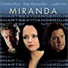 Christina Ricci, John Hurt, and Kyle MacLachlan in Miranda (2002)