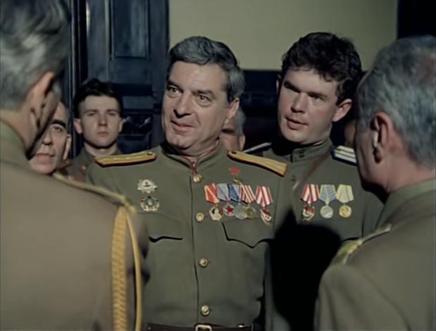 Silviu Stanculescu in Noi, cei din linia întîi (1985)