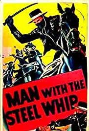 Man with the Steel Whip Poster