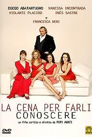Diego Abatantuono, Francesca Neri, Violante Placido, Inés Sastre, and Vanessa Incontrada in La cena per farli conoscere (2007)