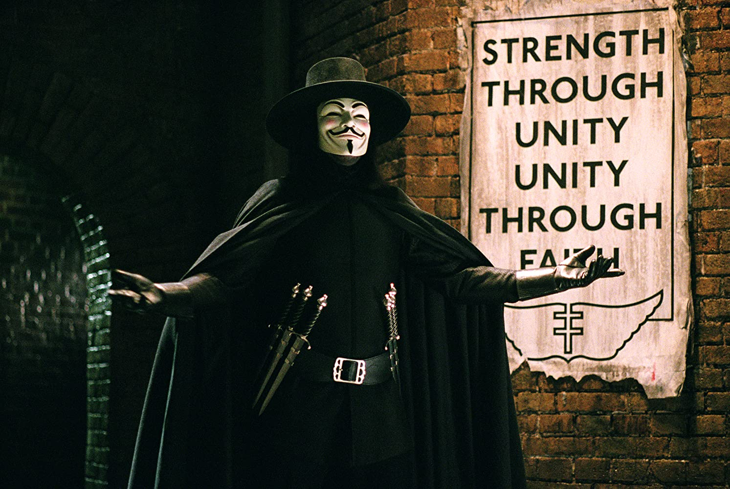 Hugo Weaving in V for Vendetta (2005)