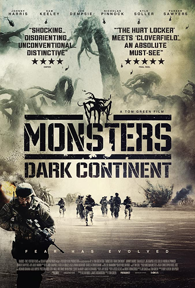 Monsters : Dark Continent (2014) Hindi Dual Audio 550MB UNCUT BluRay 720p HEVC x265 ESubs