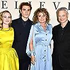 Gary Sinise, Shania Twain, Britt Robertson, and K.J. Apa at an event for I Still Believe (2020)